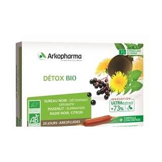 ARKOFLUIDS DETOX BIO 20x10 ml