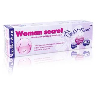 Woman Secret right time ovulačný test