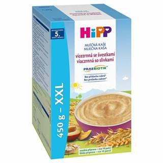 HiPP Mliečna kaša praebiotik viaczrnná so slivkami 450 g