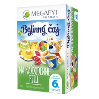 MEGAFIT Čaj bio na každodenné pitie 20 x 2g