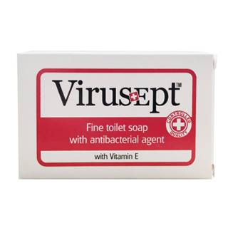 VIRUSEPT Toaletné mydlo s antibakteriálnou prísadou a vitamínom E 90 g