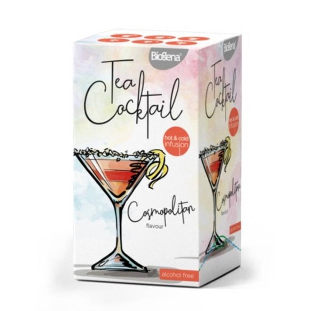 BIOGENA BIOGENA Tea Cocktail Cosmopolitan flavour 20x2,5 g