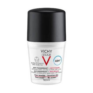 VICHY Homme deo roll-on proti škvrnám 48h 50 ml